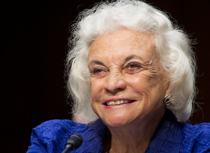 Sandra Day O'Connor retired from the Supreme Court in 2006, but she continues to impart wisdom off the bench.