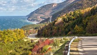 Cape Breton, Canada, Nova Scotia, fall, 2014, Canon 700D
