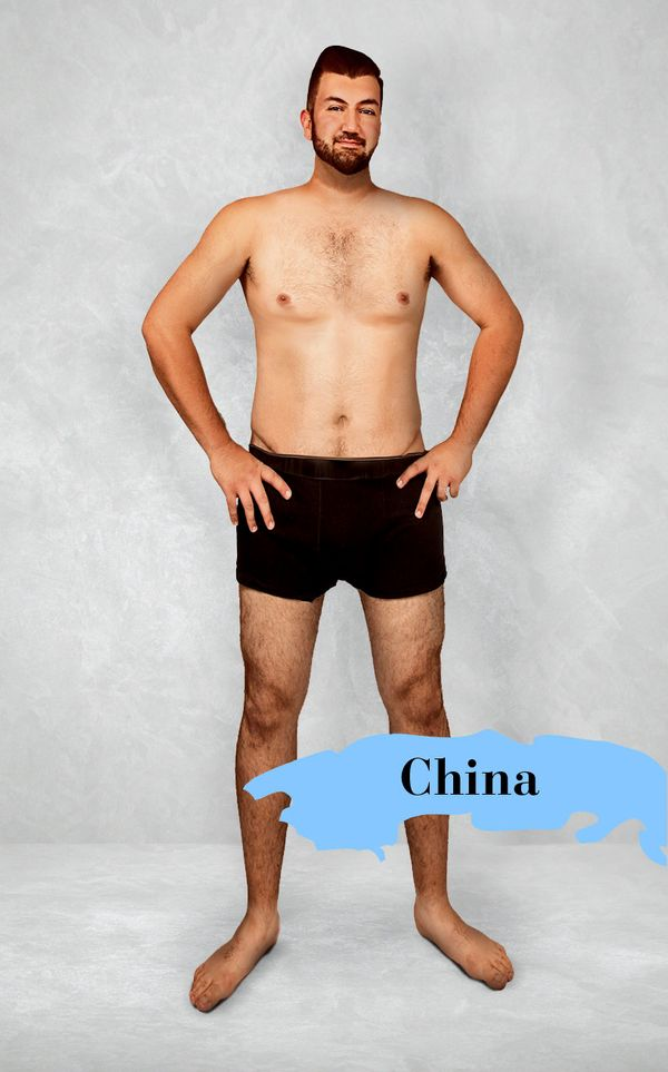 What The 'Ideal' Man's Body Looks Like In 19 Countries ...