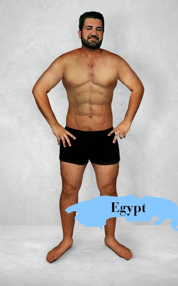 What The Ideal Mans Body Looks Like In 19 Countries Huffpost