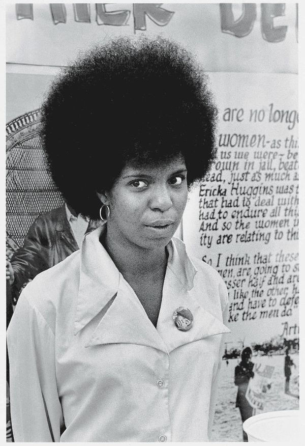 The sight of black men and women unapologetically sporting their afros, berets and leather jackets had a special appeal to ma