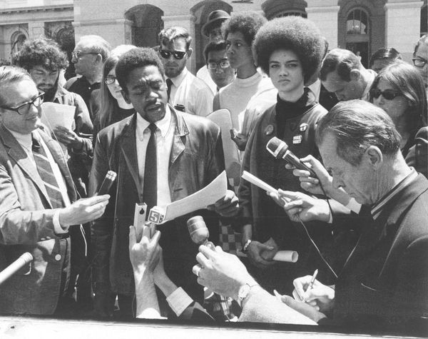 The Black Panthers furthered their agenda by appealing to what they believed journalists and photographers sought after to co