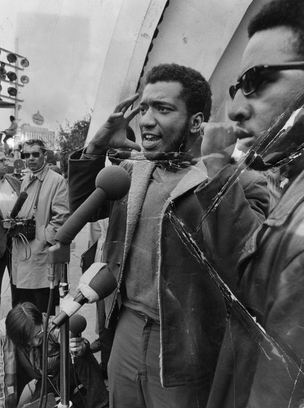 "Black Panther Party co-founder Bobby Seale was <a href=""http://www.biography.com/people/bobby-seale-9477529#the-black-panther"