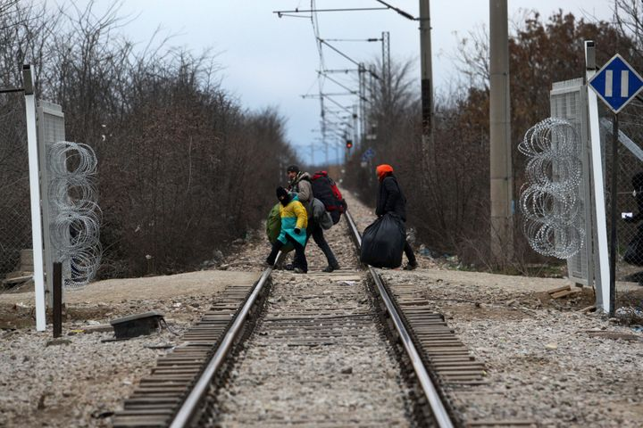 Once in theGreek village of Idomeni, ifMacedonian border guards catch migrants without proper documentation, they