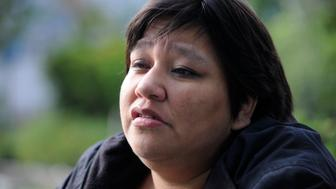 TORONTO, ON - SEPTEMBER 30:  Lita Blacksmith's daughter, Lorna, is among Canada's 1,100-plus murdered and missing women. Shawn Lamb was convicted of killing Lorna. For use in MMIW project. Jim Rankin/Toronto Star        (Jim Rankin/Toronto Star via Getty Images)