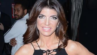 """Teresa Giudice book launch party at 49 Grove, NYC to promote her new book """"Turning the Tables: From Housewife to Inmate and Back Again""""<P>Pictured: Teresa Giudice<B>Ref: SPL1230197  170216  </B><BR/>Picture by: Derek Storm / Splash News<BR/></P><P><B>Splash News and Pictures</B><BR/>Los Angeles:310-821-2666<BR/>New York:212-619-2666<BR/>London:870-934-2666<BR/>photodesk@splashnews.com<BR/></P>"""