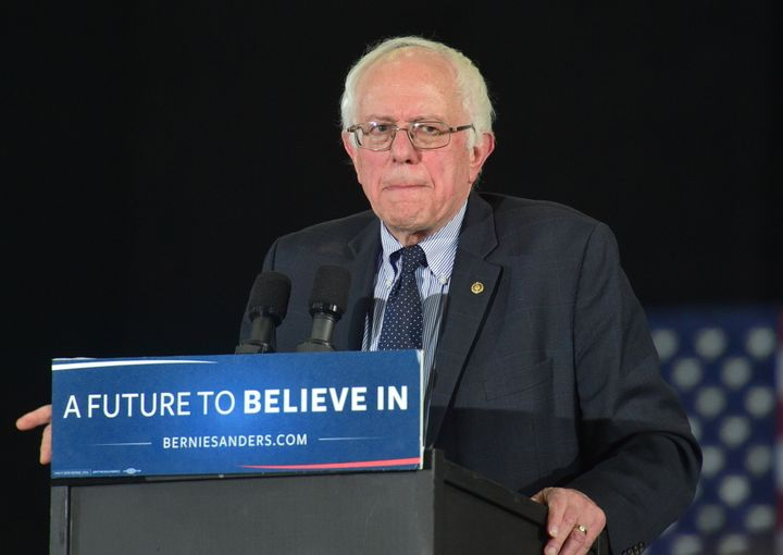 A new Monmouth University poll shows that Democratic presidential candidate Bernie Sanders has struggled to make inroads with