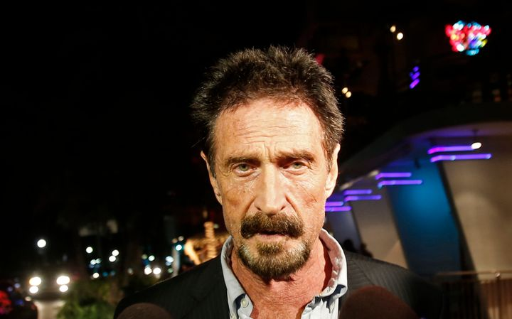 John McAfee Offers To Hack Terrorist's iPhone For FBI | HuffPost