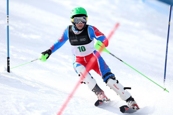 Mills' next goal? To become the oldest person to win a gold medal in the 2018 Winter Paralympics. She'll be 50 years old when