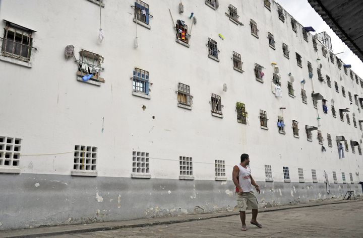 Colombian jails, such as this one in Bucaramanga, are among the most overcrowded in Latin America.
