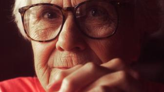 In an August 31, 2001, file image at the Stage Coach Cafe in Stockton, Ala., the author Harper Lee, who wrote 'To Kill a Mockingbird.' A recently-discovered sequel, 'Go Set a Watchman,' is due to be published in July 2015. (Terrence Antonio James/Chicago Tribune/TNS via Getty Images)