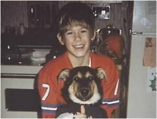 Jacob Wetterling at 11 years old.