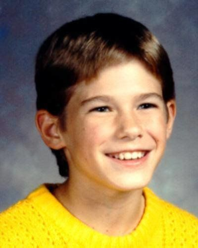 Jacob Wetterling's last school photo before his disappearance.