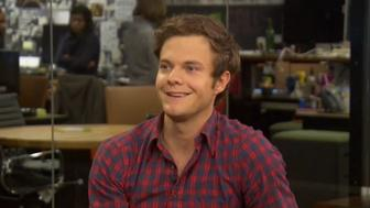 Jack Quaid appears on HuffPost Live.