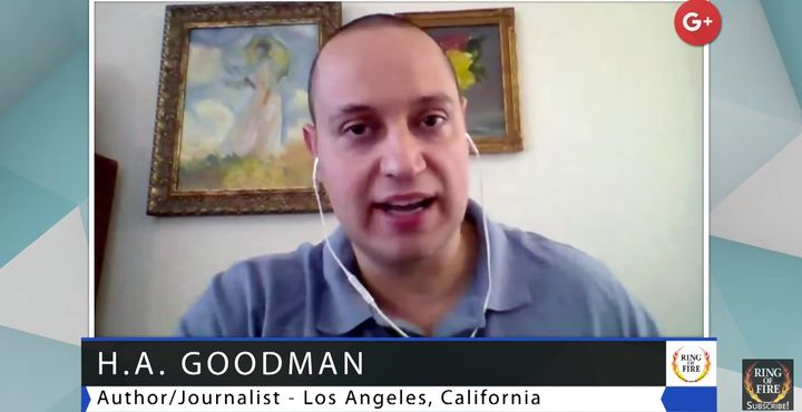 "H.A. Goodman has little presence in traditional media, but appears on progressive shows like <a href=""https://www.youtube.com"