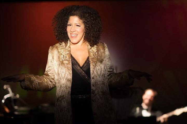 Rain Pryor, who will perform in New York City on Wednesday, says her mixed background makes her proud of who she is.