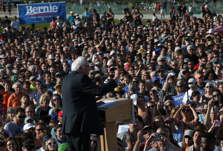 As the national media largely dismissed Sanders' candidacy, bloggers like H. A. Goodman have found fans online by assuri