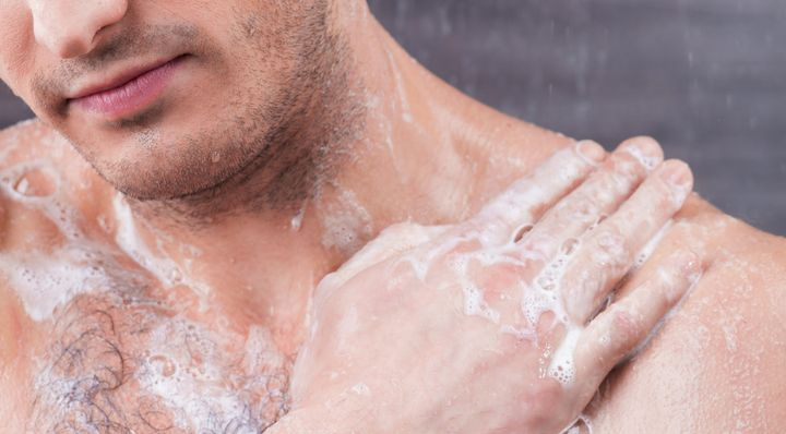 Dermatologists warn that not properly rinsing soap off can cause skin irritation and dryness.