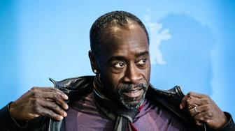 BERLIN, Feb. 18, 2016-- Director Don Cheadle poses during a photocall to present the movie 'Miles Ahead' at the 66th Berlinale International Film Festival in Berlin, Germany, on Feb. 18, 2016. (Xinhua/Zhang Fan via Getty Images)