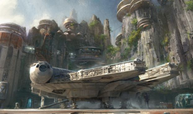 "Visitors will be able to <a href=""http://wdwnews.com/galleries/2016/02/22/star-wars-themed-lands-coming-to-walt-disney-world-and-disneyland-resorts/#slide-1"" target=""_blank"">drive the Millennium Falcon</a> in a new ride experience.&nbsp;"