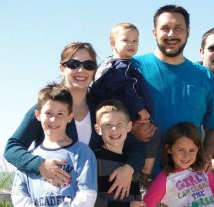 The family has been identified as Leonard Quasarano, 35, his wife Heather, 39, and their three children, ages 2 to 11.