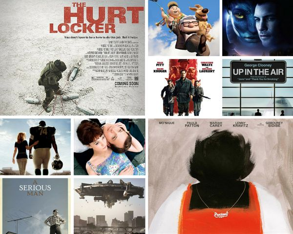 "<strong>Nominees:&nbsp;</strong>""Avatar,"" ""The Blind Side,"" ""District 9,"" ""An Education,"" ""Inglourious Basterds,"" ""Precious,"""
