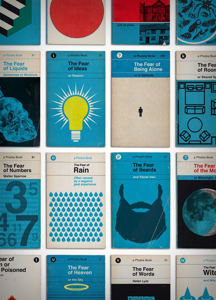 Don\'t Judge Your Phobias By These Cool Vintage Book Covers | HuffPost