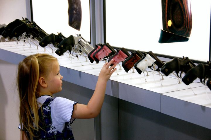 "A new report claims the firearms industry has ""set its sights on America's children."""