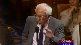 Bernie Sanders denounces a homophobic slur on the House Floor in 1995.