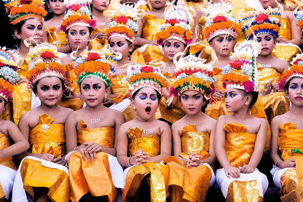 """Image was taken in Bali during Melasti Festival. This Festival is conducted once a year in conjunction with Nyepi or Silent"