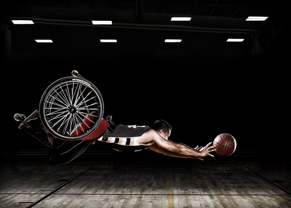 """These images were created for the Rehabilitation Institute of Chicago's Adaptive Sports Program and the RIC Hornets wheelcha"