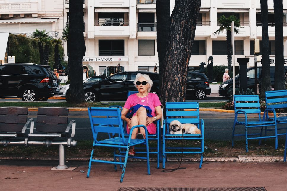 """Taken in Cannes, France 2015. I took this photograph on Promenade de la Croisette, during my summer holiday. Whilst everyone"