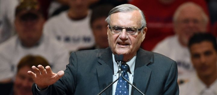"Sheriff Joe Arpaio once claimed he ""could get elected on pink underwear."""