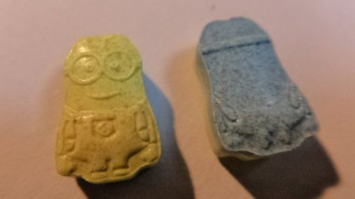 Ecstasy pills shaped like tiny Minions were confiscated in Chile last week, authorities there said.