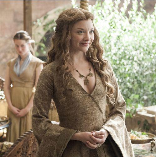 Natalie Dormer as Margaery Tyrell in 'Game of