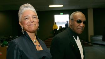LOS ANGELES, CA - MARCH 02:  Comedian Bill Cosby  and wife Camille O. Cosby walk backstage during the 38th annual NAACP Image Awards held at the Shrine Auditorium on March 2, 2007 in Los Angeles, California.   (Photo by Michael Buckner/Getty Images for NAACP)