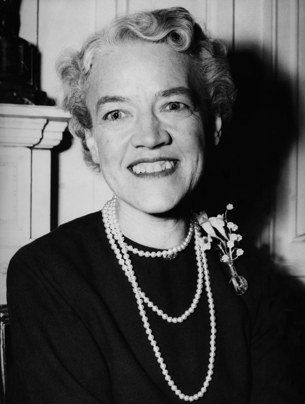 "In 1964, <a href=""http://www.biography.com/people/margaret-chase-smith-280222"" target=""_blank"">Margaret Chase Smith</a> becam"
