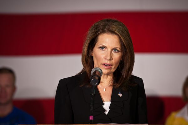 "<a href=""https://en.wikipedia.org/wiki/Michele_Bachmann"" target=""_blank"">Michelle Bachman </a>ran a campaign to become the Re"
