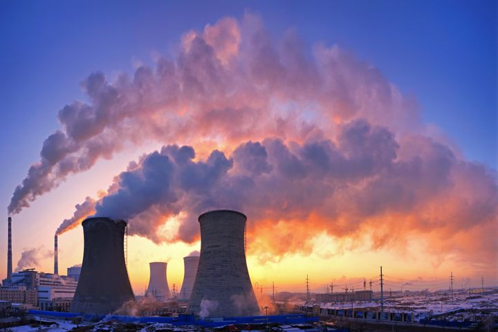 Pollution from a power plant. A new study shows cutting carbon emissions could prevent thousands of deaths in the U.S. b