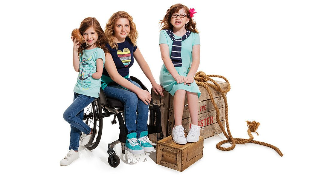 """The tagline for the collection is """"because every kid deserves a great pair of jeans."""""""