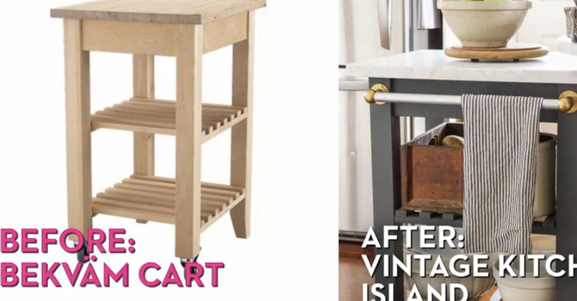 the 10 best ikea hacks of all time huffpost. Black Bedroom Furniture Sets. Home Design Ideas