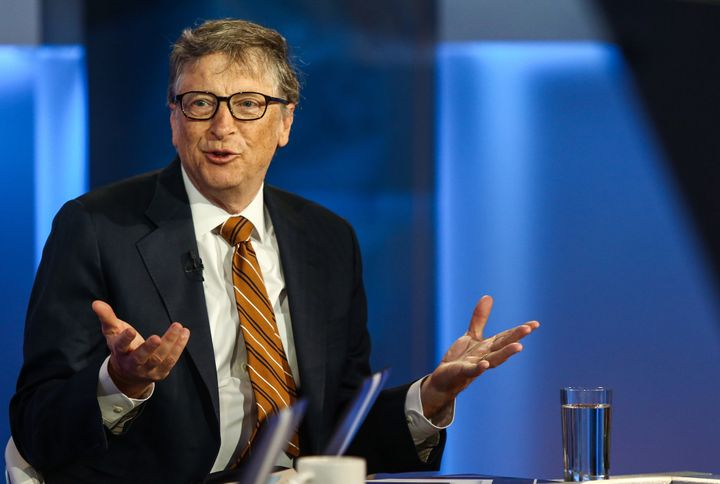 Bill Gates may be a bigshot billionaire, but he still needs to pitch in at home.