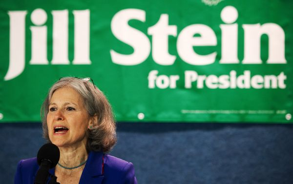"In 2012 <a href=""http://2016.green-party.info/"" target=""_blank"">Jill Stein</a> won the presidential nomination of the Green P"