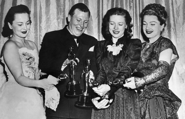 March 19, 1947: The four most coveted Oscars, presented annually by the Motion Picture Academy, held after the presentation c