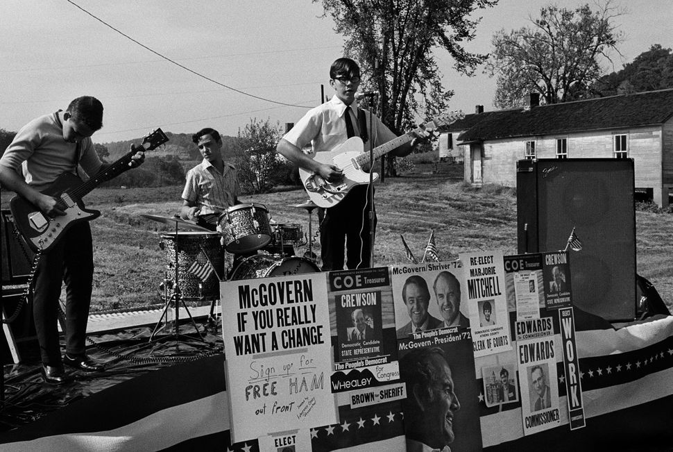 George McGovern for President rally, Southeast, Ohio.