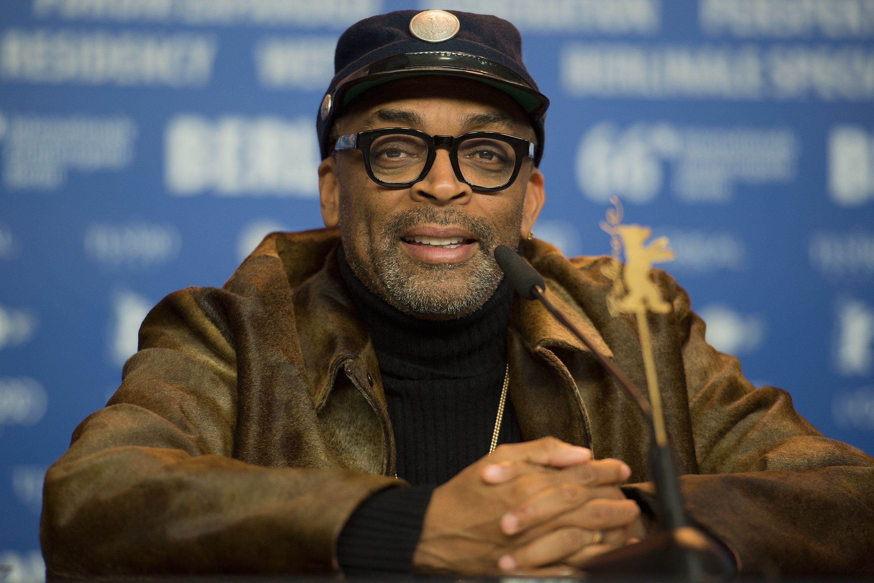 BERLIN, GERMANY - FEBRUARY 16:  Spike Lee attends the 'Chi-Raq' press conference during the 66th Berlinale International Film Festival Berlin at Grand Hyatt Hotel on February 16, 2016 in Berlin, Germany.  (Photo by Matthias Nareyek/WireImage)