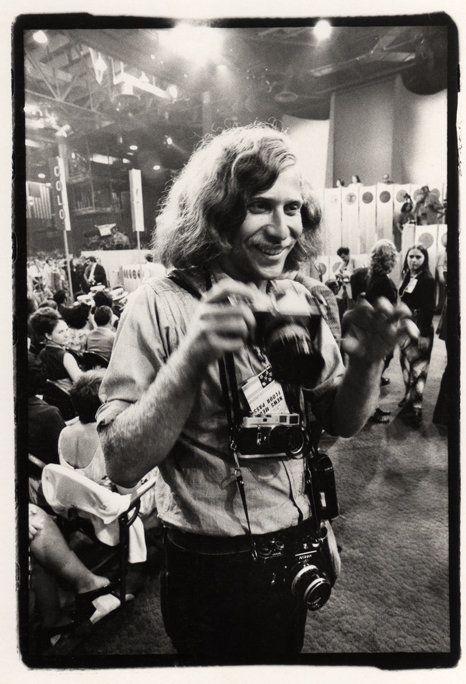 Portrait of Ken Light, 1972 Republican National Convention
