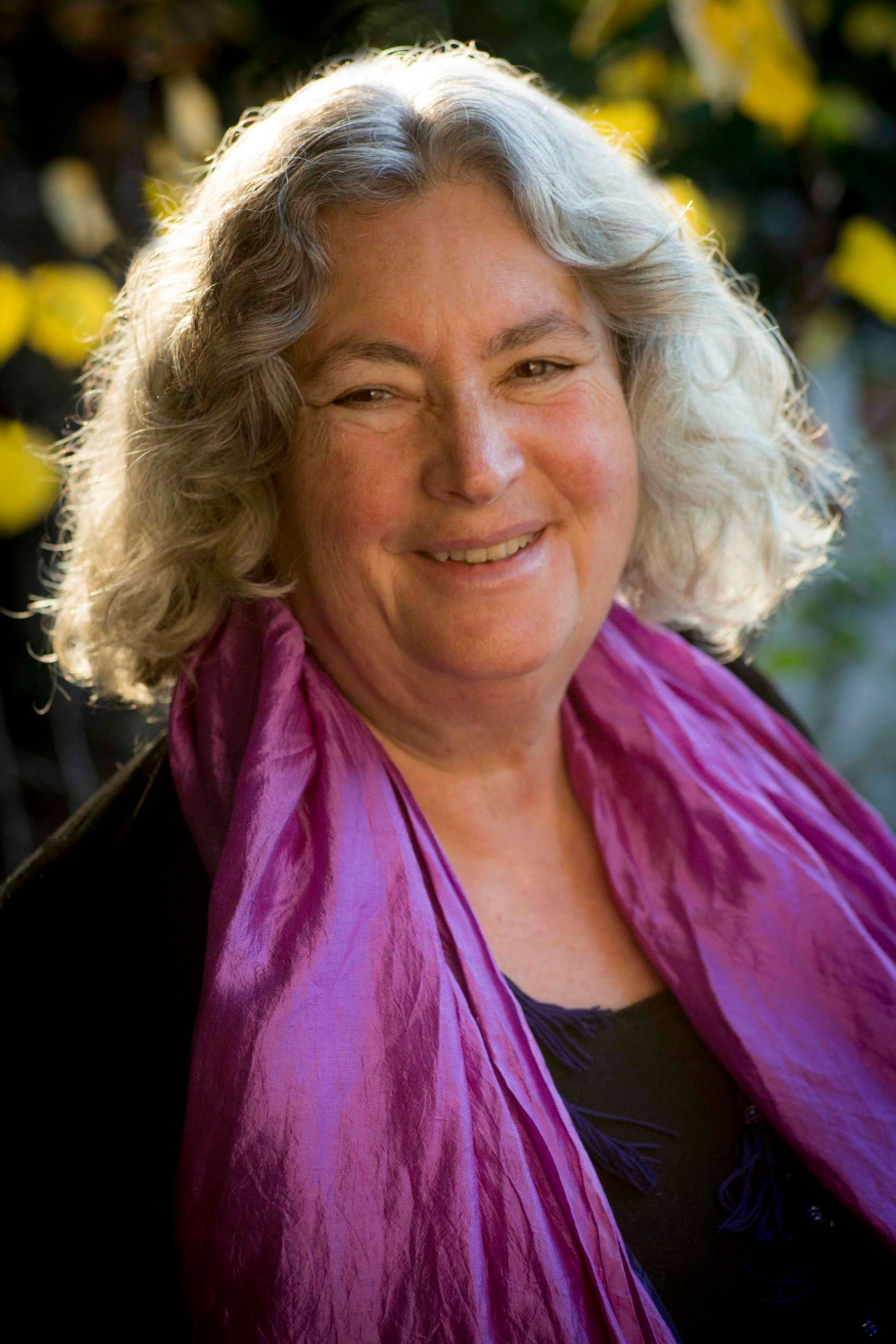 """Pagan author Starhawk says writing a book is """"kind of like being in a trance for a few years."""""""