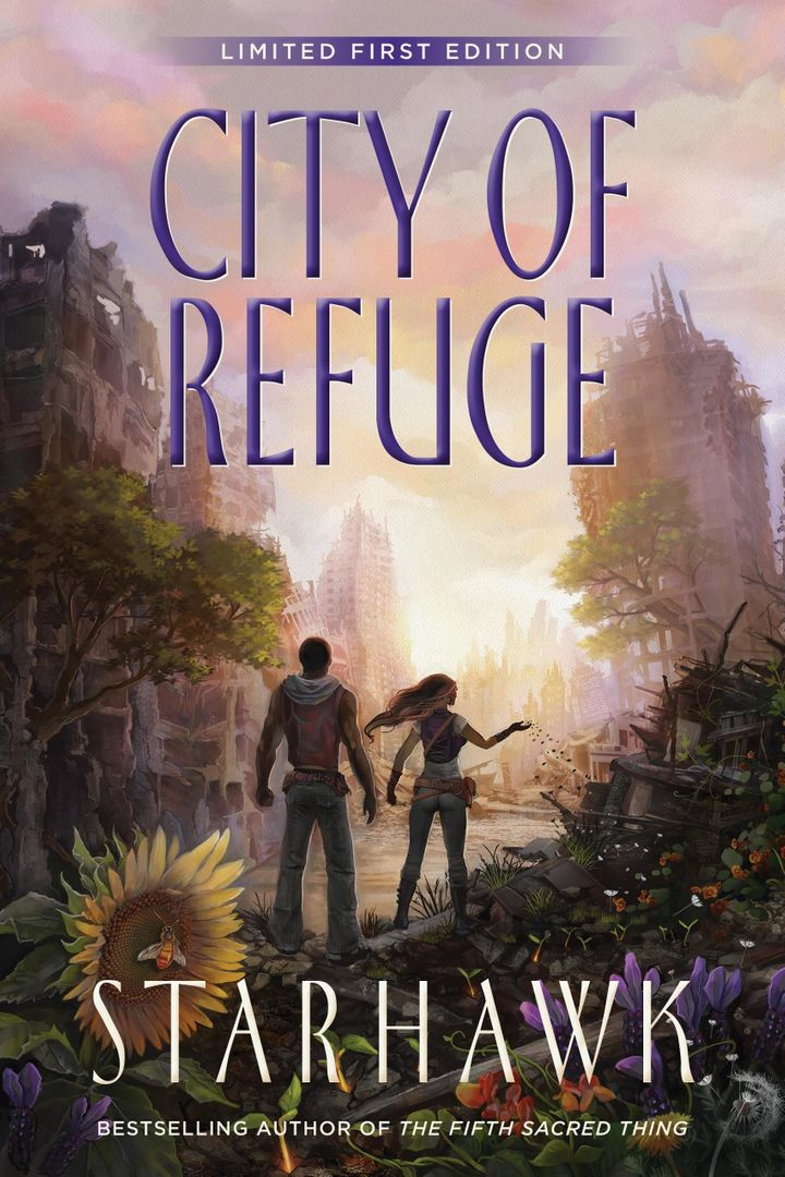 <i>City of Refuge</i> is available to purchase on Kindle and comes out in print March 1.