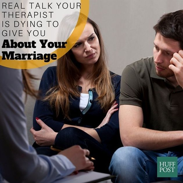8 Things Your Marriage Counselor Is Thinking But Not Telling